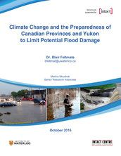 Climate change and the preparedness of Canadian Provinces and Yukon to limit potential flood damage