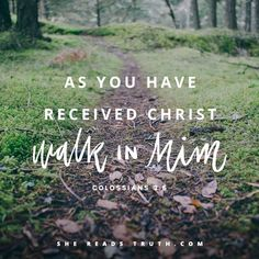 Colossians 2:6 // Just as you received the Lord in a crisis, so walk in him returning to the point of the crisis. As we grow in Christ, we aren't supposed to leave the crises in the rearview mirror.  We need regular intervals of turning and returning to the Lord, when the chords of commitment that bind our hearts to his are tightened again. While we are eternally forgiven the penalty of sin through faith in Christ, the power of that sin still looms large over our old nature.