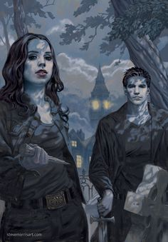 Buffy the Vampire Slayer - Angel and Faith by Steven James Morris