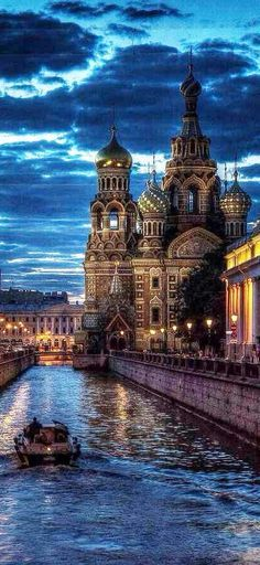 The Church of Our Savior on Spilled Blood. St. Petersburg, Russia.  UNESCO World Heritage Site