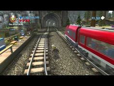 LEGO City Undercover (Wii U) - Secret Railroad Handcar (Railroad Tour of LEGO City) - YouTube