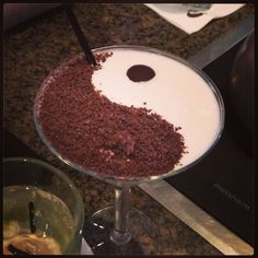 Yin yang cocktail