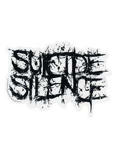 Suicide Silence Logo Sticker | Hot Topic