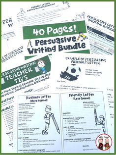 Are your students struggling with Persuasive Writing? This unit will help your students to capture their audience and support the claims in the piece they are writing!
