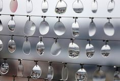 14,000 reused eyeglass lenses make up the spectacular SeaSeeSaw installation in Istanbul!