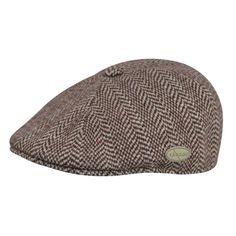 f4951875ff9 Kangol Herringbone Jacquard Ivy Cap Leather Hats
