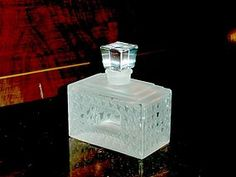 Dior Deco crystal perfume bottle......this one in my collection