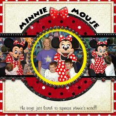 Minnie Mouse for Disney