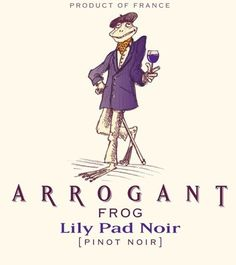 Arrogant Frog Lily Pad Noir