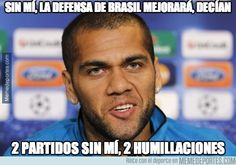 Pues definitivamente la culpa no era de Dani Alves