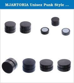 Fake Plug Helix pendientes non-piercing túnel Stripe 316l arete rayas