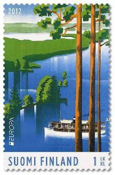 Europa: Visit Finland, stamp series 2012