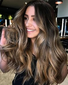 60 Hairstyles Featuring Dark Brown Hair with Highlights 2018