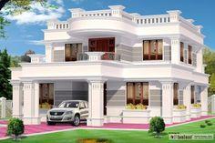 kerala exterior design pictures