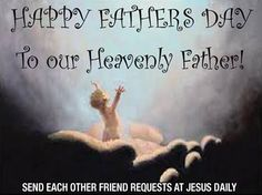 Amen... The greatest Father of all <3