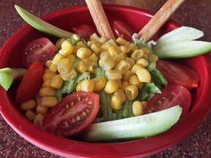 Healthy salad for snack #healthy #salad #snack