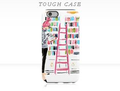 iPhone 6 iPhone 7 Case In the Library iPhone 6s by AThingCreated