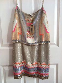 All Saints Aztec Dress