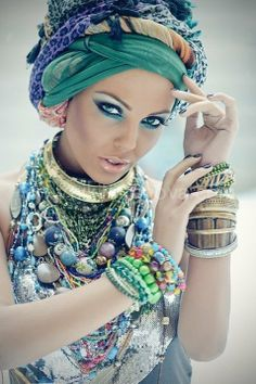 the turban repinned by thecelestinecollection.com