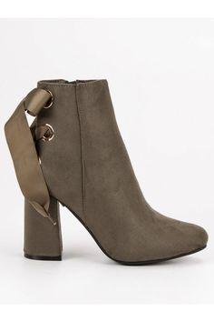 Topánky na stĺpovom opätku Ideal Shoes Timberland, Vans, Platform, Ankle, Shoes, Fashion, Moda, Zapatos, Wall Plug