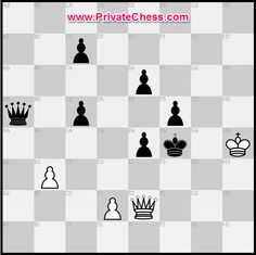 White to move and win ! WFM Dina Belenkaya give lesson on PrivateChess.com http://www.privatechess.com/en/user-profil/?viewuser=1125 #chess #echecs #exercices #privatechess #elearning