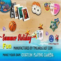 TMCARDS DOT COM - custom playing card manufacturer with customer centric services and unbelievably affordable prices Promotion Marketing, Custom Playing Cards, Marketing Products, Make Your Own, How To Make, E Cards, Card Sizes, Create Yourself, Dots