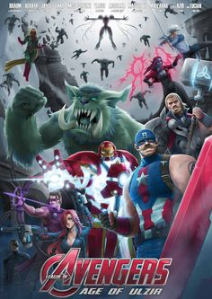 -Braum as Captain America -Xerath as Ironman -Jayce as Thor -Varus as Hawkeye -Miss fortune as Blackwidow -Gnar as Hulk -Morgana as Scarlet Witch -Master Yi as Quicksilver -Malzahar as Vision -Azir...
