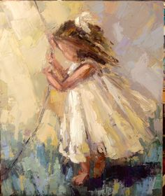 Kathryn Trotters | Portraits | Girls Room | Abstract | Oh Sunny Day | Art