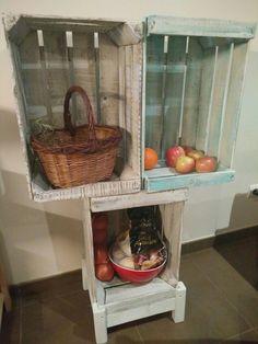 Despensa DIY cajas fruta