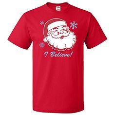 Inktastic Retro Santa Believe T-Shirt Medium Red inktastic http://www.amazon.com/dp/B00NUVEE4Y/ref=cm_sw_r_pi_dp_gn2Pub1ZXG79R