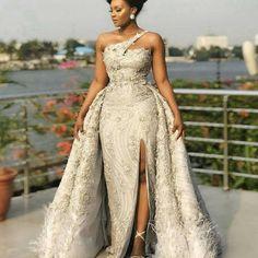 African Prom Dresses, Latest African Fashion Dresses, African Print Fashion, Wedding Dress Black, Dream Wedding Dresses, Wedding Gowns, Lace Wedding, Ghana Wedding Dress, Wedding Hijab