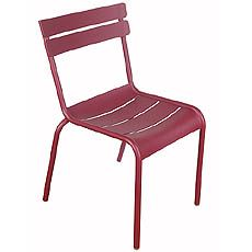 I really like this classic chair from fermob, available in many colors