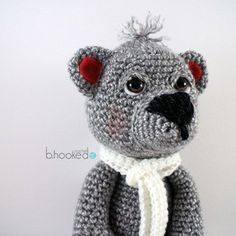 Now available! Free pattern and video tutorial for this lil guy at bhookedcrochet.com. Enjoy your first free pattern of 2015! wow, thanks so for great share xox FREEEEEEEEE