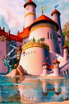 El castillo de una Princesa♥.. Ariel!!