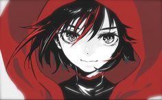 Ruby rose (rwby) drawn by osushi red