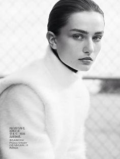 Andreea Diaconu by Karim Sadli for Vogue China October 2013