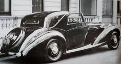 Chassis Sedanca Coupé by Gurney Nutting; Bentley or Litre Bentley Car, Amazing Cars, Rolls Royce, Old Cars, Concept Cars, Derby, Antique Cars, Classic Cars, Automobile
