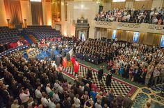The 2013 RVC Graduation Ceremony at the Freemason's Hall, London