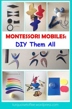 Montessori Mobiles: DIY Them All…All parents want to give their baby the best start in life. We go to great lengths to give them only the purest food, the safest cribs, the softest blankets,…