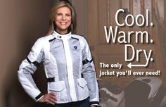 Women Riders Now - Motorcycling News & Reviews REV'IT! Jacket http://www.womenridersnow.com/pages/review_revit_levante_jacket_for_women_riders.aspx