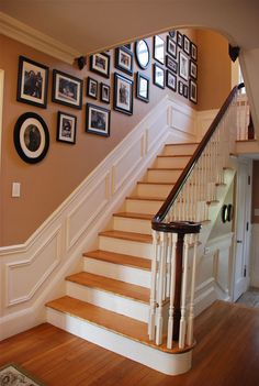 I think I would spend all my time hanging out on these stairs if this was my home.
