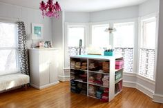 c and beans sewing room makeover
