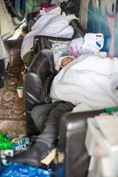 In Manchester the homeless are living in tunnels beneath our feet like Molemen