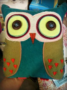 Stuffed Owl Tutorial for owen