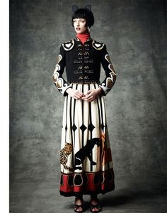 Vintage Malcom Starr Circus Skirt in Vogue ... | Fashion and Costume  OMG.