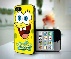 Spongebob Custom Apple Smile design for iPhone 5 case | customgiftshop - Accessories on ArtFire