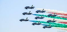 Frecce Tricolori - aerobatic demonstration team of the Italian Aeronautica Militare