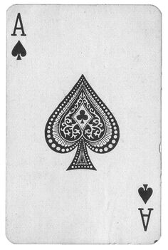 This would be your basic decks of cards that has been slightly altered to make it more impressive as the typeface is more modern and the suit has been altered so then its more interesting to loom at.