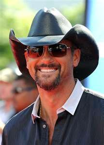 """Tim McGraw in Fox's """"American Idol 2011"""" Finale - Results Show - Arrivals"""