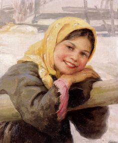 Russian Beauty, Russian Art, Muslim Beauty, Soviet Art, Russian Painting, Photo Projects, Various Artists, Painting For Kids, Oil On Canvas